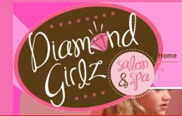 Diamond Girlz Spa and Salon Logo