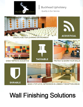 Upholstered Walls, Acoustic Walls
