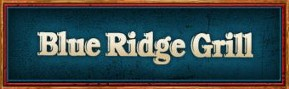 The Blue Ridge Grill's Logo